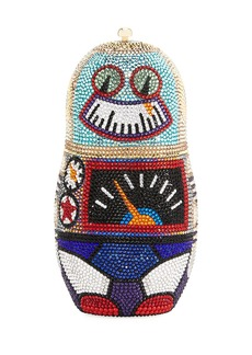 Judith Leiber Robot Russian Doll Clutch Bag