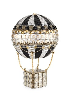 Judith Leiber Rozier Crystal Hot Air Balloon Minaudiere