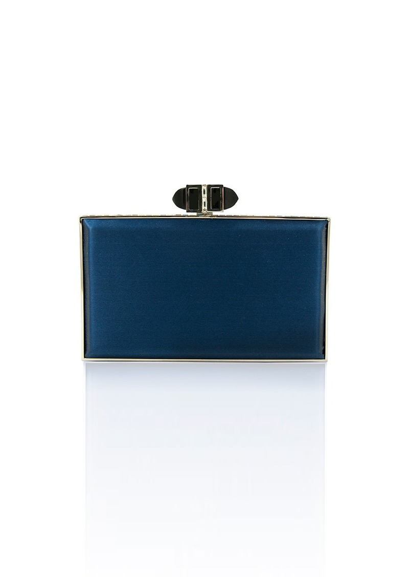 Coffered rectangle bag - Blue Judith Leiber Wide Range Of Sale Online Clearance Free Shipping For Nice pNO1MmB6eZ