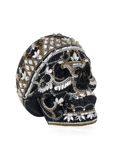 Judith Leiber Skull Bela Lugosi Crystal Evening Clutch Bag
