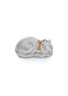 Judith Leiber Sleeping Cat Clutch