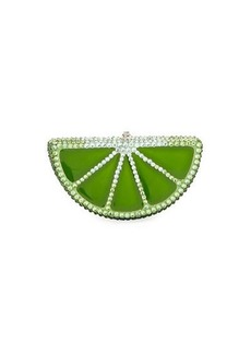Judith Leiber Slice Crystal Pillbox