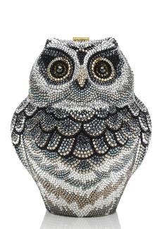 Judith Leiber Wisdom Owl Evening Clutch Bag