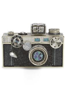 Judith Leiber Crystal Camera Minaudière