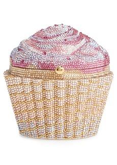 Judith Leiber Cupcake Crystal Embellished Clutch