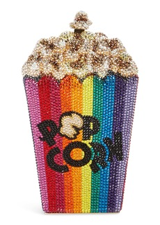 Judith Leiber Popcorn Crystal Embellished Clutch