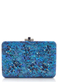 Judith Leiber Under the Sea Slim Slide Clutch