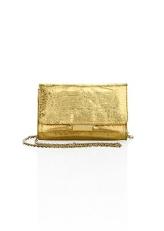 Judith Leiber Mini Sloane Metallic Clutch
