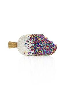 Judith Leiber Popsicle Sprinkles Hard Clutch Bag