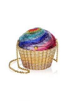 Judith Leiber Rainbow Cupcake Shoulder Bag