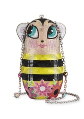 Judith Leiber Russian Doll Busy Bee Clutch Bag