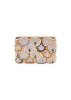 Judith Leiber Seamless Scallop Crystal Clutch