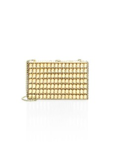 Judith Leiber Sideways Emerald-Cut Clutch