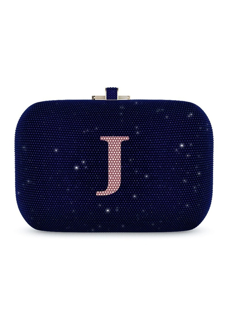 Judith Leiber Slide Lock Customizable Monogram bag