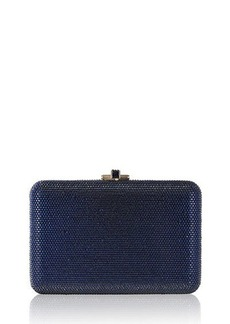 Judith Leiber Slim Slide Crystal Evening Clutch Bag