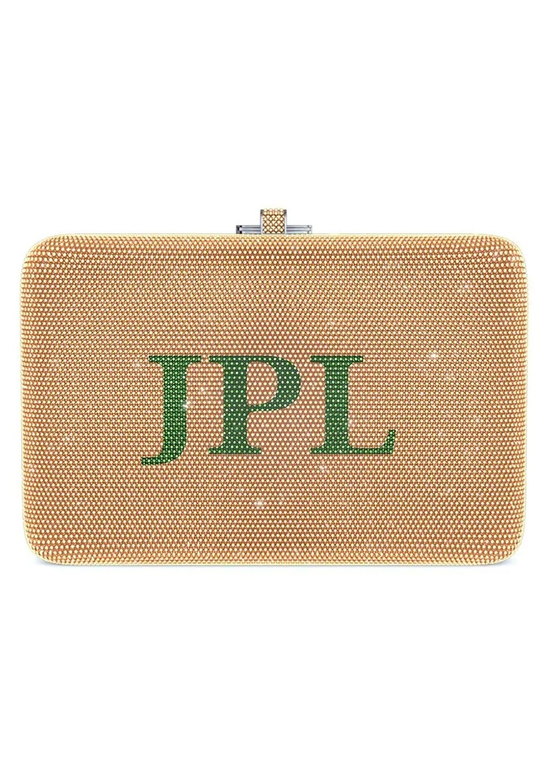 Judith Leiber Slim Slide Customizable Monogram bag
