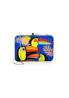 Judith Leiber Toucan Beaded Clutch