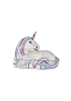 Judith Leiber Unicorn Crystal Clutch Bag