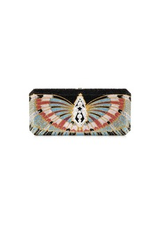 Judith Leiber Victory Slim Rectangle Crystal Clutch