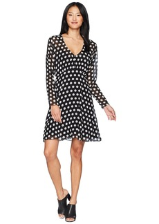 Juicy Couture All Over Dot Flirty Dress