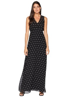 Juicy Couture All Over Dot Maxi Dress