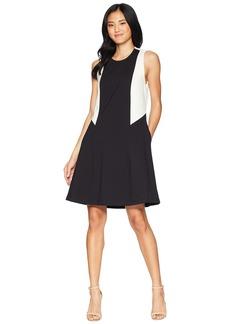 Juicy Couture Color Block Ponte Dress