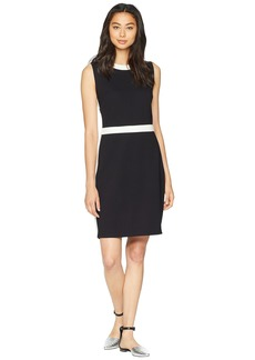 Juicy Couture Color Block Ponte Fitted Dress