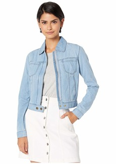Juicy Couture Cotton Silk Chambray Jacket