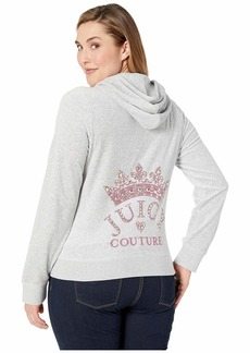 Juicy Couture Crowned Couture Velour Robertson Jacket