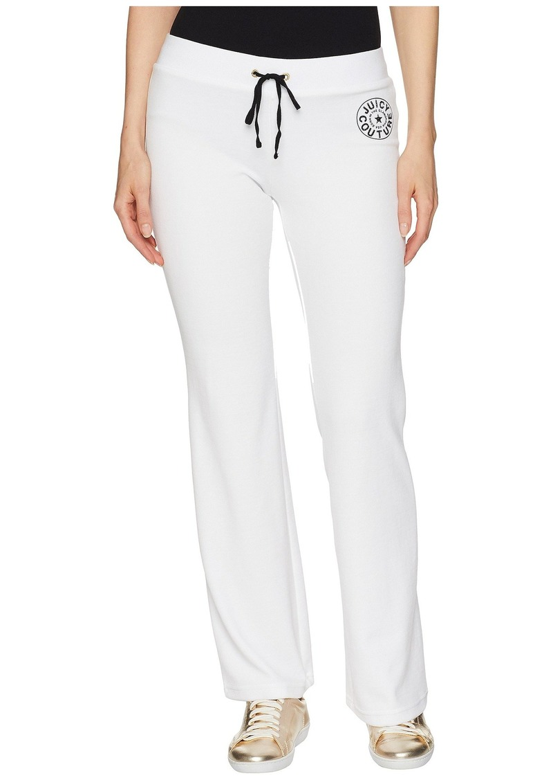 9c7386fc SALE! Juicy Couture Del Rey Pant w/ Circle Star Logo