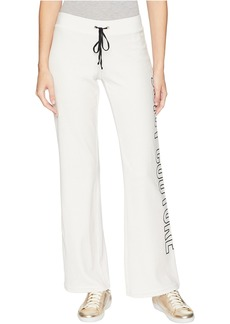 Juicy Couture Del Rey Pant w/ Oversized Block Letter Logo