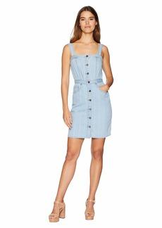 Juicy Couture Denim Pinstripe Dress