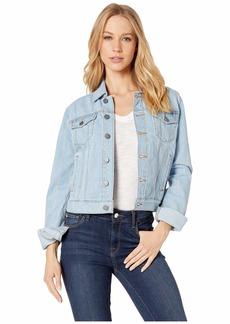 Juicy Couture Denim Pinstripe Jacket