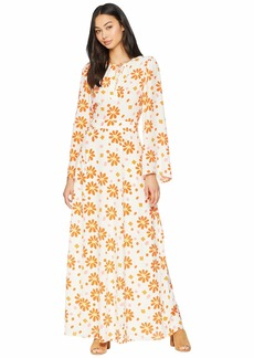 Juicy Couture Dotted Daisy Maxi Dress