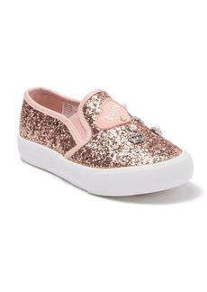 Juicy Couture Glitter Slip-On Sneaker (Toddler, Little Kid & Big Kid)