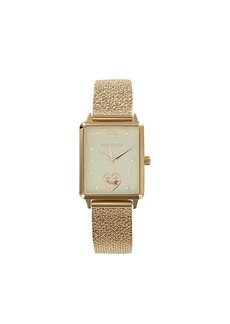 Juicy Couture Goldtone Stainless Steel & Swarovski Crystal Bracelet Watch