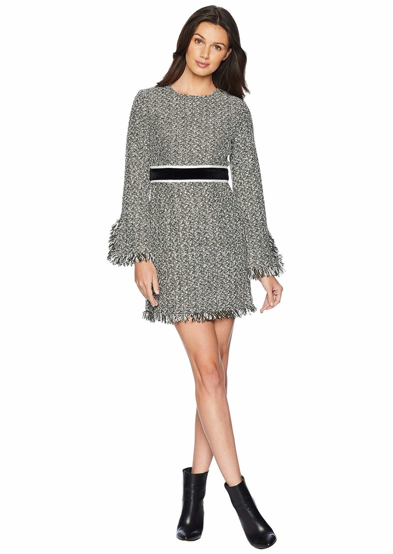 Juicy Couture Hard Woven Hudson Tweed Shift Dress