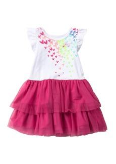 Juicy Couture Heart Print Dress (Little Girls)