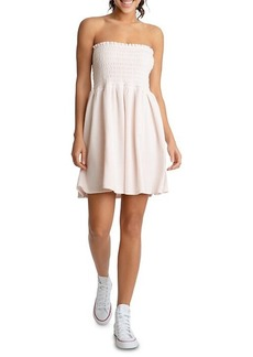 Juicy Couture Heritage Strapless Smocked Dress