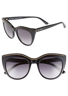 Juicy Couture 51mm Cat Eye Sunglasses
