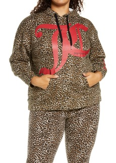 Juicy Couture Animal Graphic Hoodie (Plus Size)