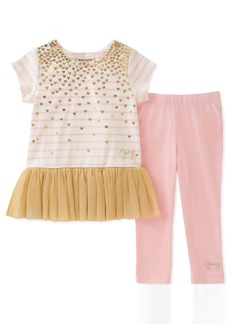 Juicy Couture Baby Girls 2 Pieces Tunic Set  18M