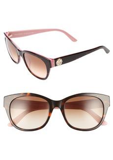 Juicy Couture Black Label 53mm Gradient Sunglasses