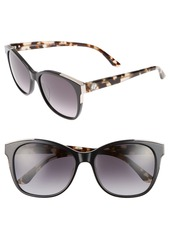 Juicy Couture Black Label 56mm Cat Eye Sunglasses
