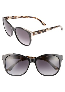 Juicy Couture Black Label 56mm Cat Eye Sunglasses