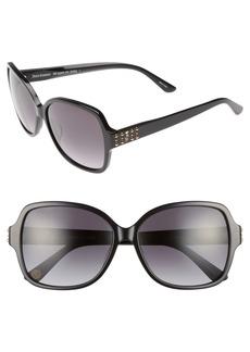 Juicy Couture Black Label 57mm Square Sunglasses