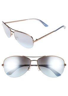 Juicy Couture Black Label 60mm Gradient Aviator Sunglasses