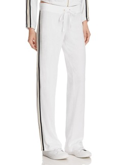 Juicy Couture Black Label Microterry Stripe Track Pants - 100% Exclusive
