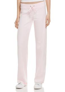 Juicy Couture Black Label Original Flare Velour Pants - 100% Exclusive