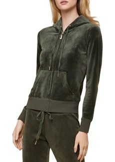 Juicy Couture Black Label Robertson Luxe Velour Hoodie